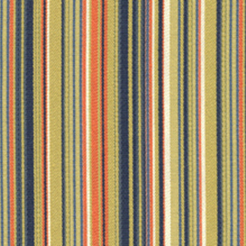 Architex Tour Apricot Sour Geometric Lines Orange Upholstery Fabric