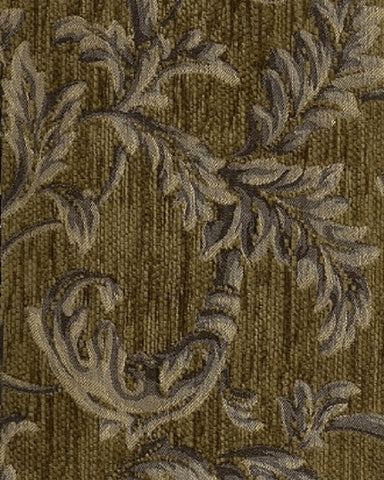 Upholstery Fabric Chenille Floral Pattern Trail Forest Toto Fabrics