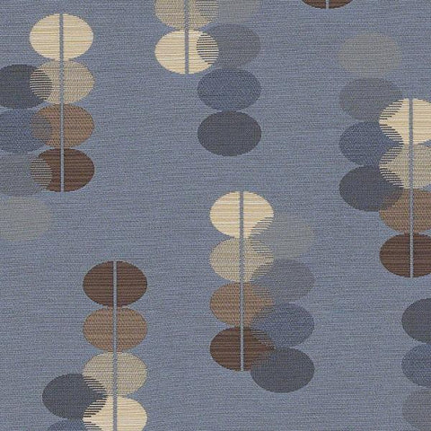 CF Stinson Upholstery Fabric Oval Pattern Tranquility Water Toto Fabrics