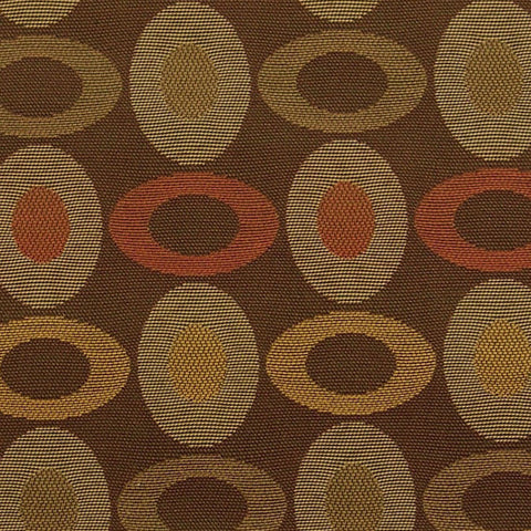 Upholstery Fabric Colored Rings Treat Autumn Toto Fabrics