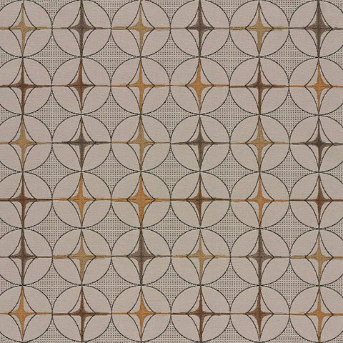 Arc-Com Fabrics Tritik Beach Neutral Geometric Tan Upholstery Fabric