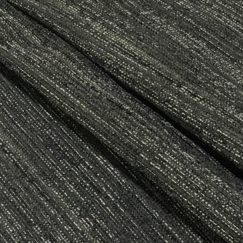 Richloom Upholstery Fabric Weaved Tweed Graphite Toto Fabrics