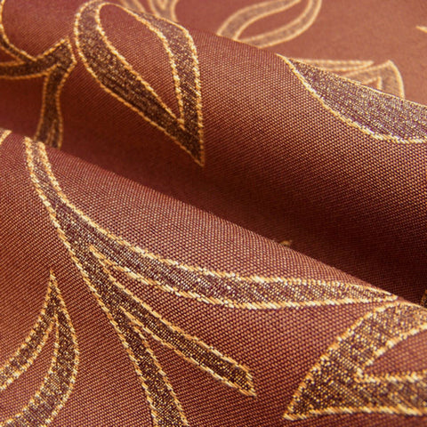 Upholstery Fabric Lustrous Botanical Scroll Undulate Chimney Toto Fabrics
