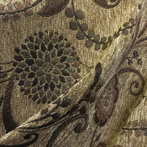 Swavelle Mill Creek Upholstery Fabric Paisley Untouchable Saddle Toto Fabrics