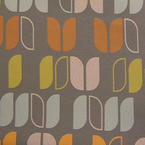 Momentum Upside At Ease Geometric Crypton Gray Upholstery Fabric