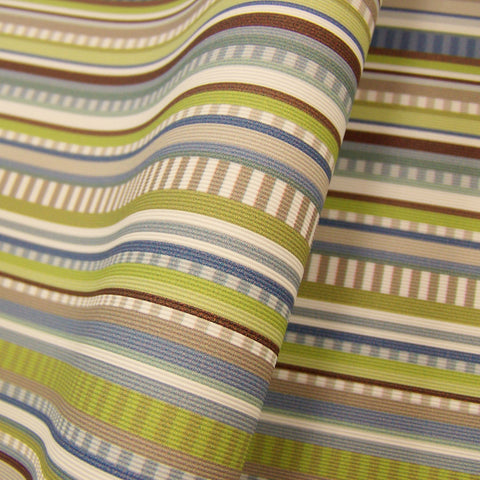 CF Stinson Walk The Line Shoreline Stripe Multi Upholstery Vinyl
