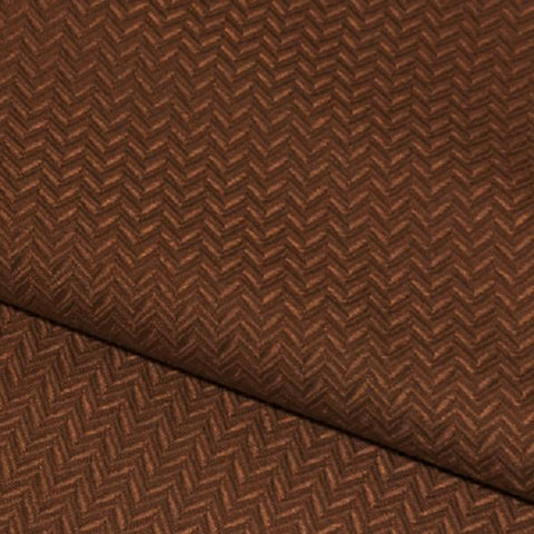Swavelle Mill Creek Upholstery Fabric Small Chevron Weaver Bronze Toto Fabrics
