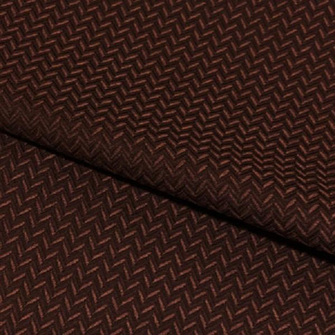 Swavelle Mill Creek Upholstery Fabric Small Chevron Weaver Walnut Toto Fabrics