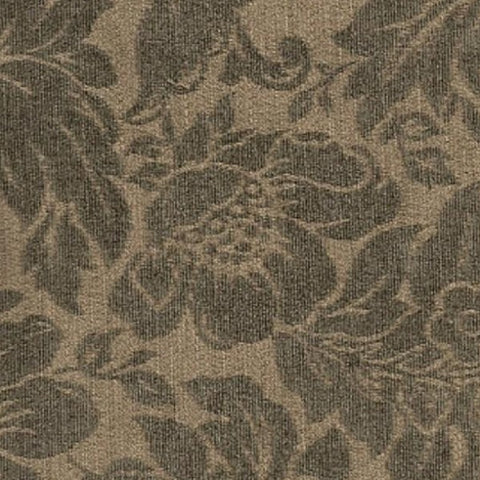 Upholstery Fabric Chenille Floral Pattern Willow Wheat Toto Fabrics