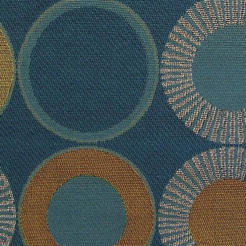 Arc-Com Yoyo Baltic Circle Design Upholstery Fabric