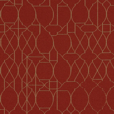 Maharam Fabrics Upholstery Fabric Abstract Geometric Ogee Vestige Stop