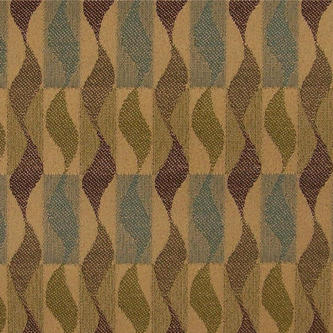 Maharam Fabrics Upholstery Fabric Serpentine Stripe Whirl Breeze