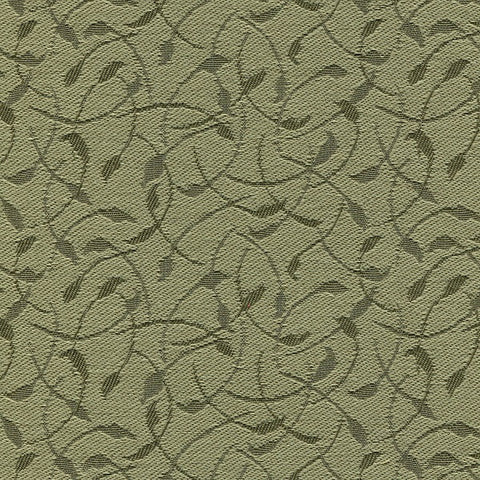 Guilford of Maine Upholstery Fabric Small Vine Pattern Whirl Celadon