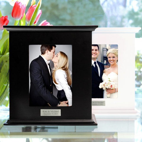 Black Reception Card Holder Photo Box