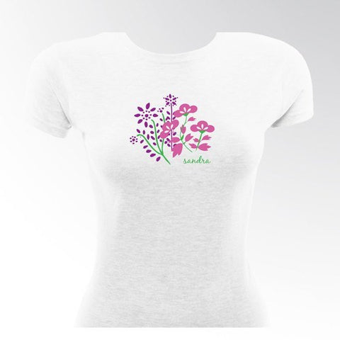 Bouquet Flirty Gal TShirt
