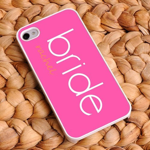 Bride and Bridesmaid iPhone Cover