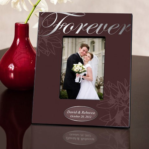 Couple's Frame - Forever Silver
