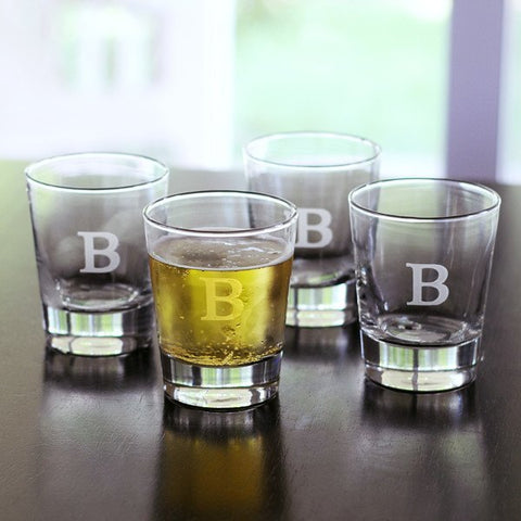 Double Old Fashioned Glasses(Set of 4)