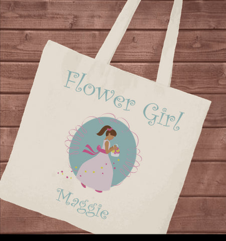 Flower Girl - Canvas Tote