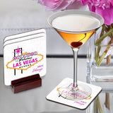 Gals Las Vegas Coaster Set