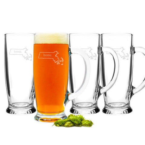 Home State Craft Beer Mugs(Set of 4)