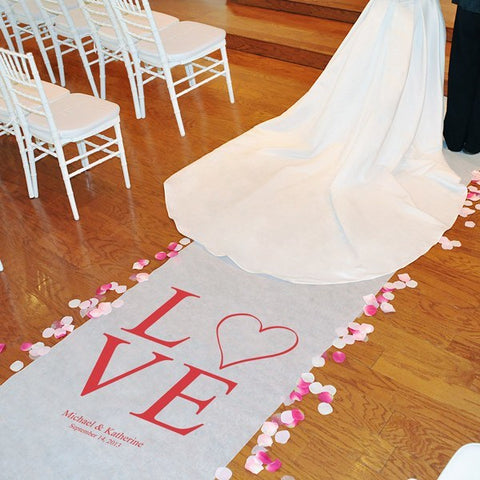 Modern Love Aisle Runner