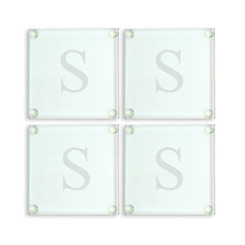 Personalized Glass Coasters(Set of 4)