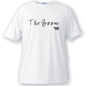 Script Series Groom T-shirt