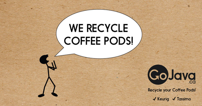 GoJava and Oxford Properties team up to Recycle Your Coffee Pods