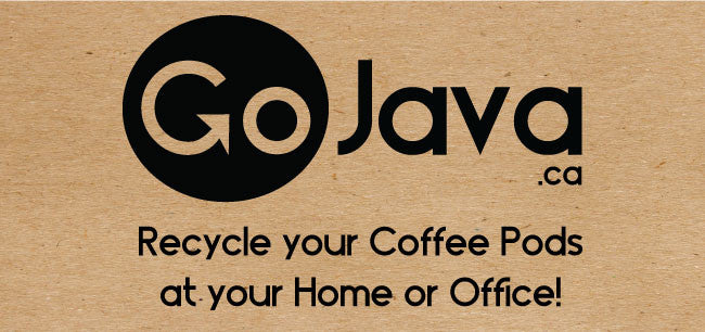 Press Release - Toronto's GoJava.ca sets out to recycle your coffee pods for Free!