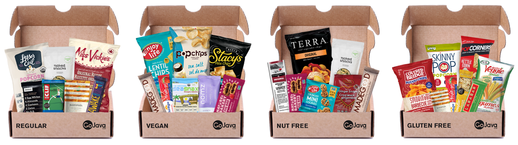 GoJava Work From Home Snack Boxes