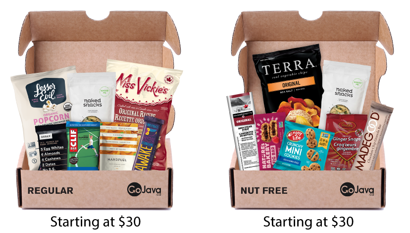 Work From Home Snack Boxes