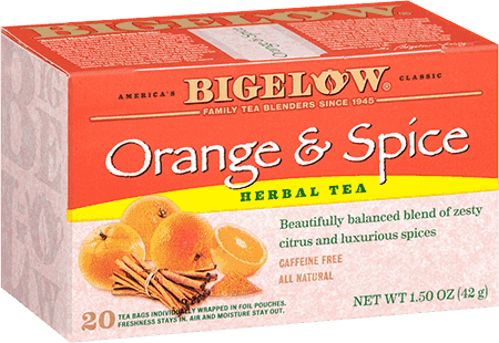 Bigelow - Orange & Spice (28 bags) - Tea - Tea Bags