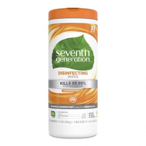 Seventh Generation - Disinfecting Wipes (35 Sheets)