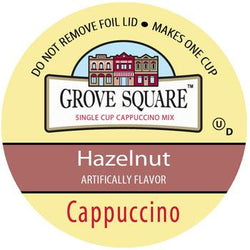 Grove Square - Cappuccino Hazelnut  (24 pack)