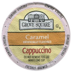 Grove Square - Cappuccino Caramel  (24 pack)