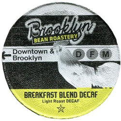 Brooklyn Bean - Breakfast Blend Decaf  (24 pack) - Coffee - Pod - Recycling