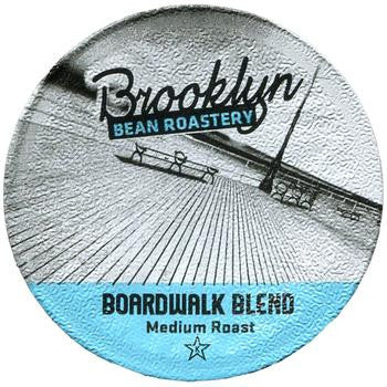 Brooklyn Bean - Boardwalk Blend  (24 pack) - Coffee - Pod - Recycling