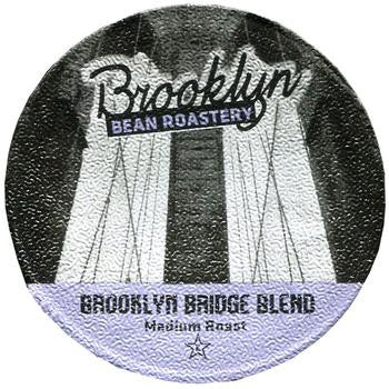 Brooklyn Bean - Brooklyn Bridge Blend  (24 pack) - Coffee - Pod - Recycling