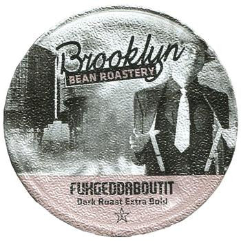 Brooklyn Bean - FuhgeddAboutIt  (24 pack) - Coffee - Pod - Recycling