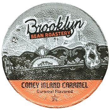 Brooklyn Bean - Coney Island Caramel  (24 pack) - Coffee - Pod - Recycling
