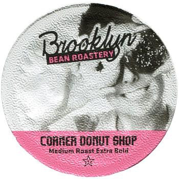 Brooklyn Bean - Corner Donut Shop  (24 pack)  - Coffee - Pod - Recycling