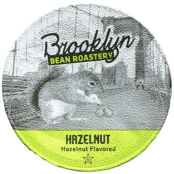 Brooklyn Bean - Hazelnut  (24 pack) - Coffee - Pod - Recycling