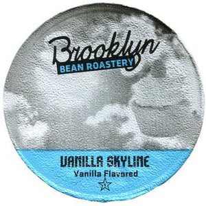 Brooklyn Bean - Vanilla Skyline  (24 pack) - Coffee - Pod - Recycling