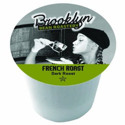 Brooklyn Bean - French Roast  (24 pack) - Coffee - Pod - Recycling