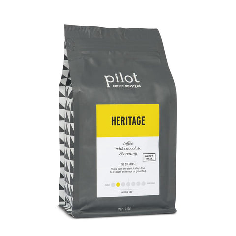 Pilot - Whole Bean - Heritage (12oz)