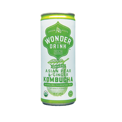 Kombucha - Wonder Drink - Asian Pear & Ginger (24x250ml)