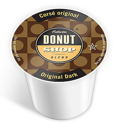 Authentic Donut Shop - Original Dark  (24 pack) - Coffee - Pod - Recycling