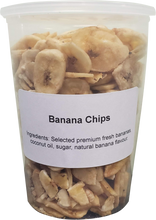 Load image into Gallery viewer, Banana Chips -  ( 1 X 32oz Tub )