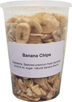 Banana Chips -  ( 1 X 32oz Tub )